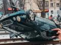 Виновника крупного ДТП в Киеве нашли пьяным в подъезде