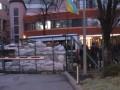 Активисты блокируют офис телеканала NewsOne