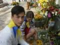 День знаний: в Киеве школьники почтили память погибших воинов
