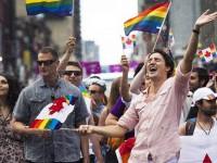 Премьер Канады Трюдо вместе с семьей пришел на прайд-парад