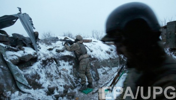 Бойцы АТО находятся в постоянной готовности для  отражения атак боевиков