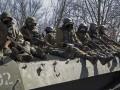 Под Гранитным враг накрывает позиции сил АТО из Градов - ИС