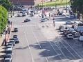 В Питере авто на скорости влетело в толпу на перекрестке