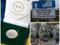 День в фото: Киндер-спецназ, дальнобойщики в Москве и монеты с Саакашвили