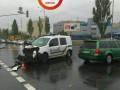 В Киеве произошло ДТП с участием полицейских