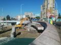 В Киеве сносят вход на станцию метро Героев Днепра