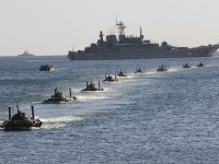 Десант РФ отрабатывает высадку в Крыму