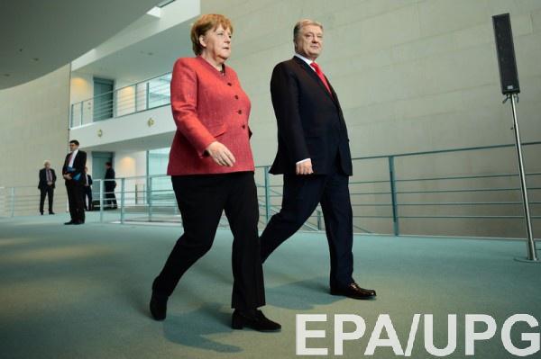 Депутат негативно оценил встречу Меркель с Порошенко
