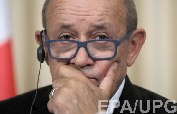 Ле Дриан надеется добиться полного выполнения Минских соглашений