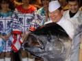 Гигантский тунец продан за рекордную сумму