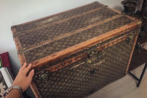 Пенсионерка хранила кукурузу в саквояже Louis Vuitton 1880 года