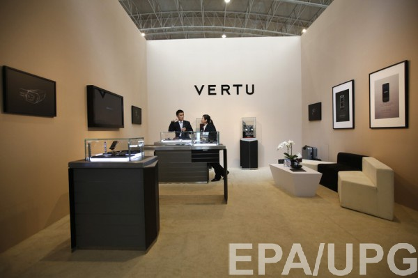 Vertu не выдерживали конкуренции со стороны производителей смартфонов