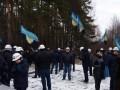 Под Львовом шахтеры перекрыли международную трассу и объявили голодовку