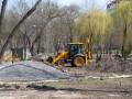 В Киеве начался масштабный ремонт в 13 парках