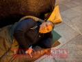 Мэр Умани спал в мешке под ОП, чтобы рассказать Зеленскому о хасидах