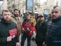 """""""Докажи, что не лох"""": Ветераны Азов митингуют в Париже"""