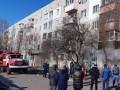 На Харьковщине произошел пожар со взрывом в многоэтажке