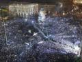 День в фото: Новый год и факельное шествие