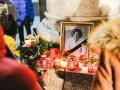Свечи и слезы: на Майдане почтили память Кузьмы Скрябина