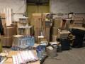 В Запорожье изъяли партию контрабандных сигарет на 2 млн гривен