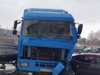 В Вышгороде неуправляемая фура протаранила припаркованные авто