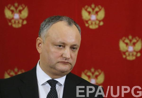 Правительство Молдовы, подконтрольное олигарху Владу Плахотнюку, и пророссийский президент Додон уже не первый месяц конфликтуют