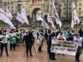 В Киеве и Полтаве предприниматели протестуют против карантина
