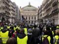 Во Франции возобновились протесты