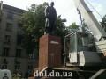 В Донецкой области впервые законно демонтировали памятник Ленину