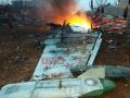 Как в Сирии сбили Су-25: видео падения и с места крушения