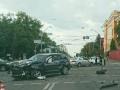 В Киеве столкнулись четыре авто: есть пострадавшие