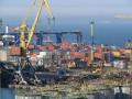 В работе шести портов Украины возникли сбои из-за тумана