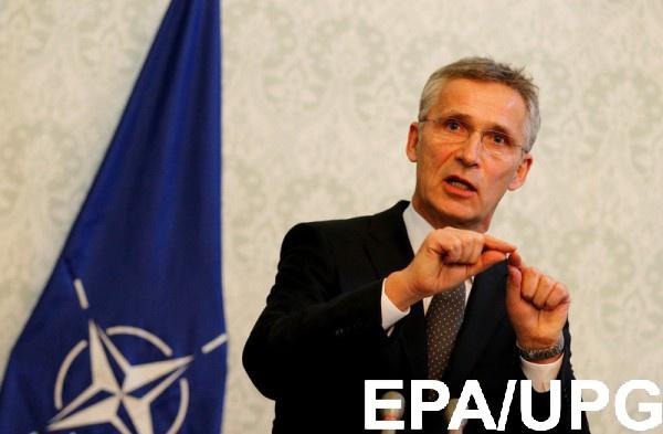 Столтенберг собирает в Брюсселе комиссию Украина-НАТО