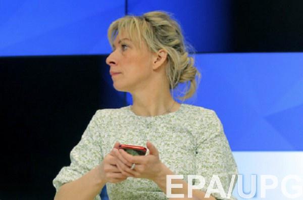 Захарова не понимает, почему нет ответа на обвинение Украины в атаке на боинг МН17
