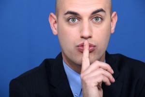 Хороший начальник должен уметь держать язык за зубами