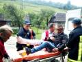 На Закарпатье из вагона поезда выпал 19-летний парень