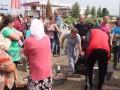 В Черновицкой области недовольные мобилизацией перекрыли дорогу