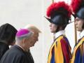 Папа римский принят Трампа с семьей в Ватикане
