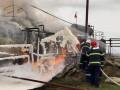 В Николаевской области загорелась нефтебаза