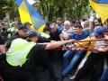 Опубликовано видео потасовки сторонников Саакашвили