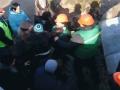 На территории стройки на Святошино произошла массовая потасовка