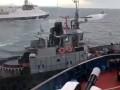 Украинских моряков везут в симферопольский суд - Чубаров
