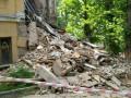 В Киеве рухнула часть здания колледжа