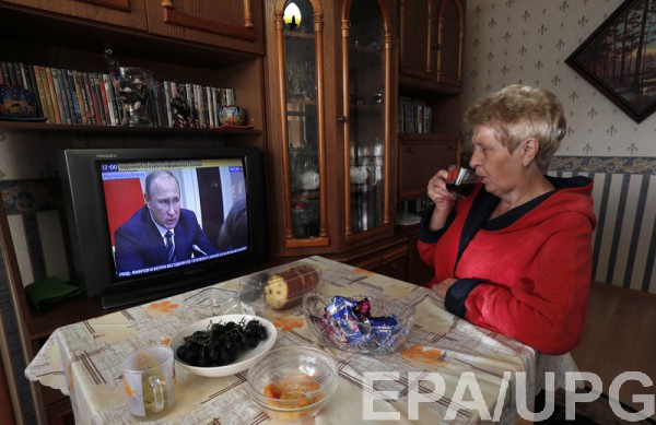 Несмотря на стагнацию экономики РФ продолжает выделять средства на пропаганду против Украины