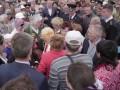 В Керчи голодные горожане оттеснили ветеранов, чтобы добраться до каши