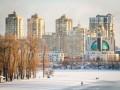 В Киеве впервые за шесть лет январь был холоднее нормы