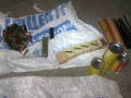 В подсобке столичного паркинга нашли арсенал боеприпасов