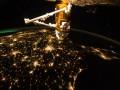 Астронавт NASA с МКС сфотографировал США перед рассветом