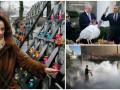Неделя в фото: память жертв Майдана, День Благодарения в США и пожары в Израиле