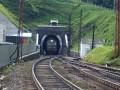 Закончилось строительство железнодорожного туннеля в Карпатах